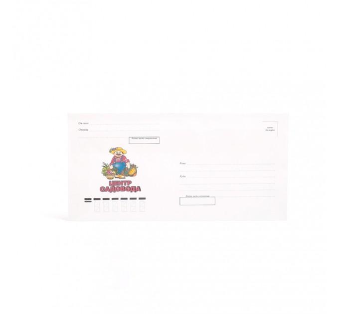 Печать на конвертах DL