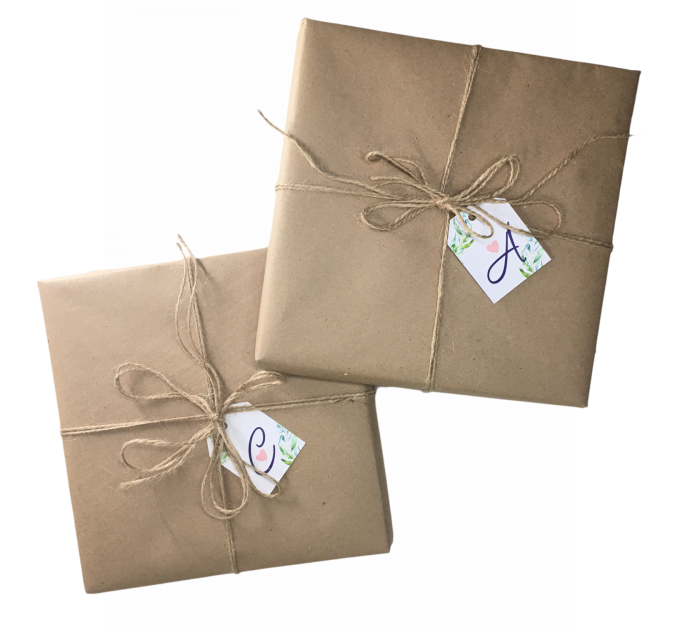 Упаковка в Крафт бумагу